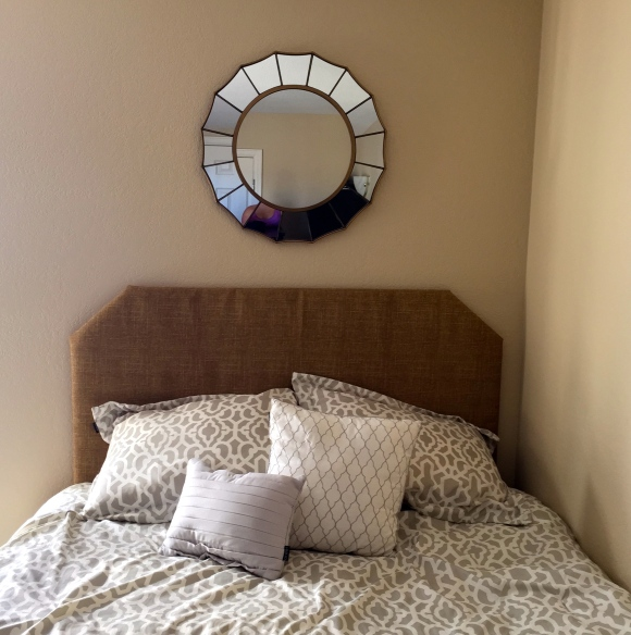 DIY $16 20-minute Queen Headboard